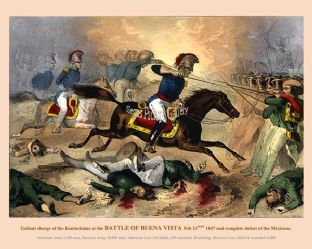 Buena Vista - Gallant charge of the Kentuckians